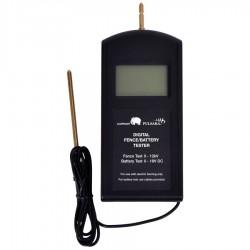 Testeur de clôture et batterie numérique