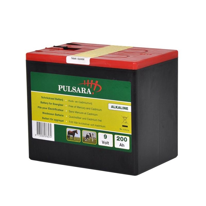 Pile Alcaline 9V/200Ah Grande