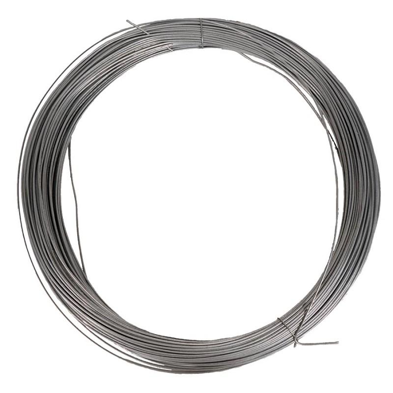 Fil d'acier HD galvanisé ø2,0mm - 2kg - env. 82m