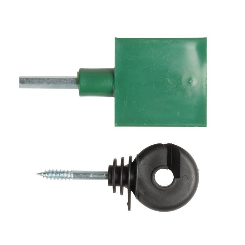 Isolateur annulaire avec soutien continu (150)