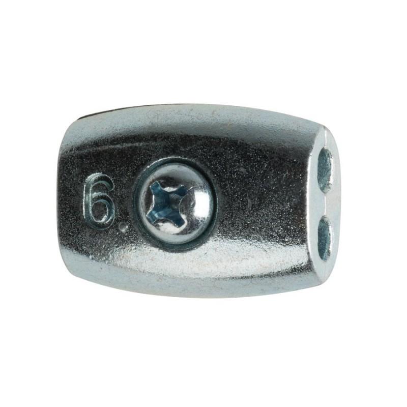 Connecteur de cordon 4 à 6mm (10)
