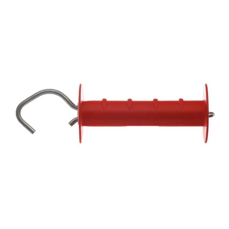 Poignée sécurité solide avec crochet ouvert rouge (1)