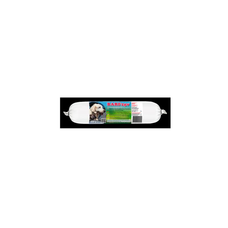 Barf pour chiens BARF2go 0,8Kg