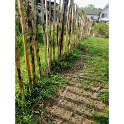 clôture en châtaignier, ganivelle 7 cm
