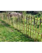 clôtures en châtaignier - ganivelle